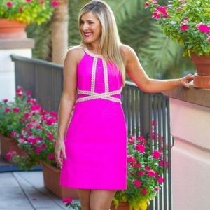 Lilly Pulitzer Layne Shift Dress Processco Pink